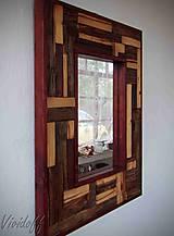 Zrkadlá - zrkadlo rustic - 8329834_