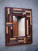 Zrkadlá - zrkadlo rustic - 8329835_