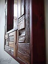 Zrkadlá - zrkadlo rustic - 8329836_