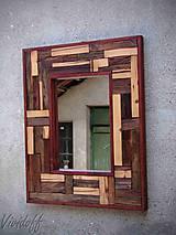 Zrkadlá - zrkadlo rustic - 8329837_