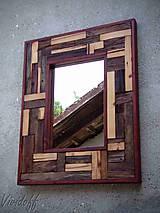 Zrkadlá - zrkadlo rustic - 8329838_