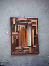 Zrkadlá - zrkadlo rustic - 8329839_