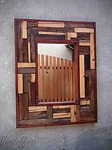 Zrkadlá - zrkadlo rustic - 8329840_