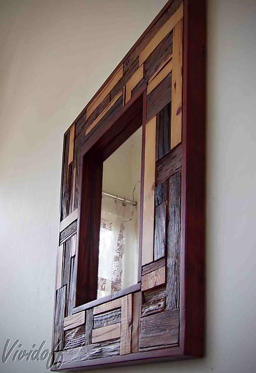zrkadlo rustic