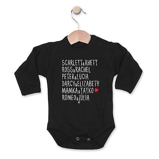 Slávne páry   depingo - SAShE.sk - Handmade Detské oblečenie 2b4be96b1ed