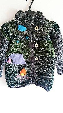 Detské oblečenie - Svetrík chlapčenský - stanovačka ;) - 8330230_