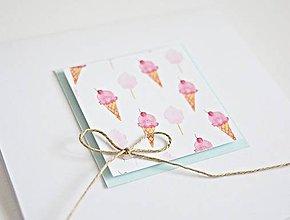 Papiernictvo - Pozdrav štýlový - Sweet summer I - 8331265_