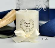Svietidlá a sviečky - Darček pre hostí #30 - 8331541_