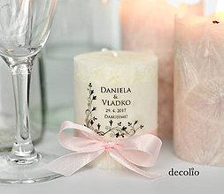 Svietidlá a sviečky - Darček pre hostí #31 - 8331547_