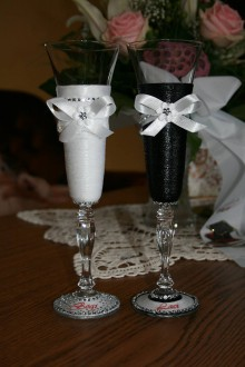 Nádoby - Svadobné poháre - Viktória - 8331841_