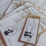 Papiernictvo - Svadobné oznámenie + pozvánka - 8330425_