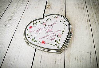 Drobnosti - Svadobné zrkadielko - 8329726_