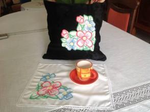 Úžitkový textil - Vankúšik a dečkou - 8330732_