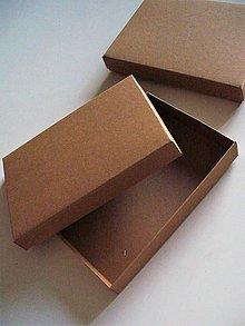 Krabičky - prírodná krabička na fotky - 8331957_