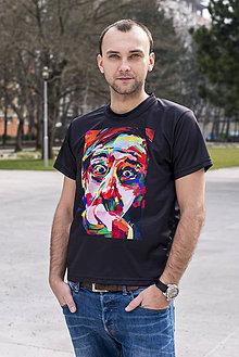 Tričká - ZLACNENÉ - Pánske tričko Jaro Filip - skladom veľkosť M - 8330051_