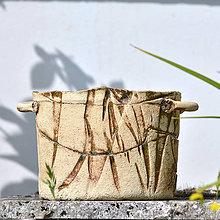 Nádoby - Kameninový truhlík malý Ovál - Natura 17 - 8331899_