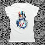 - Lodička jej/dámske tričko - 8331552_
