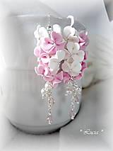 - Srdiečkové kvetinky ružovo-biele - 8329916_