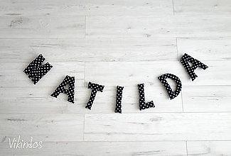 Detské doplnky - Písmená pre...MATILDA XL - 8330820_