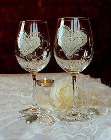 Nádoby - Svadobné poháre - 8335194_