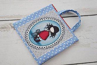 Iné tašky - Pastelkovník s dievčatkom - 8333472_