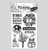 Nezaradené - Dočasné tetovačky - Knihomoľské - 8332556_