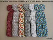 Textil - Univerzálna vložka do autosedačky 9-18 kg proti poteniu IHNEĎ K ODBERU - 8333308_