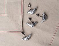 Dekorácie - Cínové závažia na obrus - vtáčiky - 8334372_