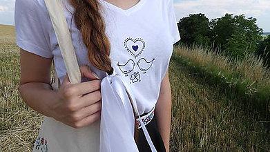 Tričká - Folklórne tričko - 8334836_