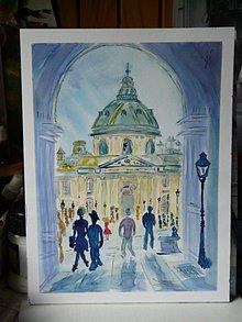 Obrazy - rande v Paríži - 8334868_