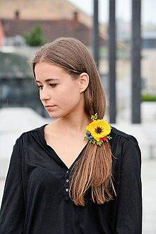 Ozdoby do vlasov - Gumka do vlasov žltá - 8333992_