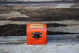 Krabičky - Krabička na snubne prstene - 8335288_