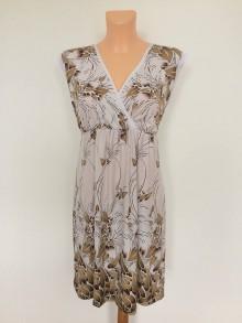 Šaty - Krátké šaty-s mocca vzorem - 8335468_