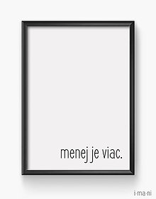 Grafika - Plagát/obraz MENEJ - 8333501_
