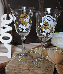 Nádoby - Svadobné poháre - 8335916_