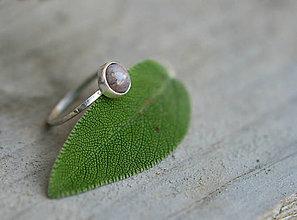 Prstene - Achát v striebre - 8338079_