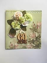 Papiernictvo - gratulačná pohľadnica k jubileu 60 rokov - 8337796_