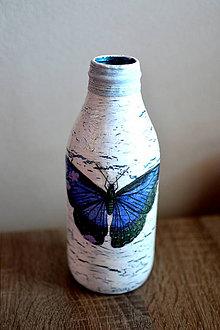 Dekorácie - Váza motýľ - 8337339_