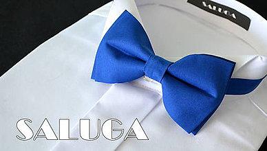 Doplnky - Kráľovsky modrý motýlik - pánsky - 8336991_