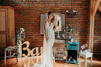 Šaty - Svadobné šaty - 8336923_
