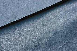 Suroviny - Exkluzívna koža - petrolejovo modrá 20x30 cm alebo na želanie - 8337252_
