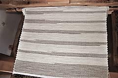 - Tkaný koberec maslovo - hnedý - 8337714_