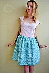 Šaty - Šaty nežné, pastelkové - 8341036_