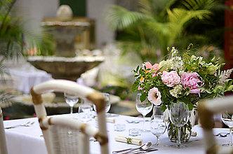 Kytice pre nevestu - Pôvab a elegancia... svadobná výzdoba - 8339834_