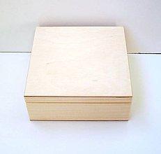 Polotovary - M16- Krabička 16x16 cm - 8341228_