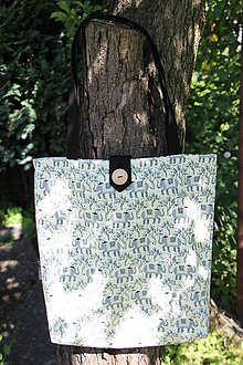 Nákupné tašky - Taška pro slečny, paní -Šedí sloni - 8339092_