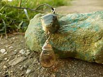 Náhrdelníky - Pri mori (perleť, sklo) - 8342140_
