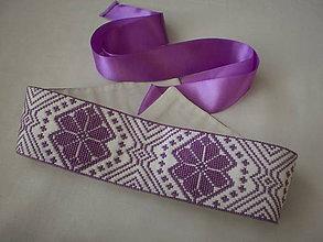 Opasky - Opasok fialový - 8340749_