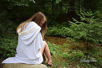 Úžitkový textil - Bambusové Kapucíno – Dospelácka osuška - 8341491_