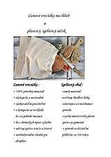 Úžitkový textil - Vrecko na chlieb z ručne tkaného ľanu 30x50 - 8339797_